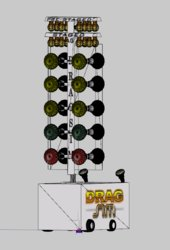 Drag Racing Pro Christmas Tree [Add-On | Locked | FiveM Resource]