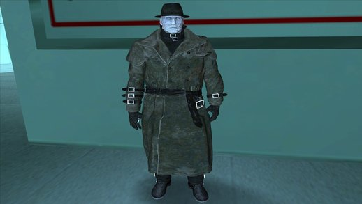 Mr X from RE2 Remake (with normal map)