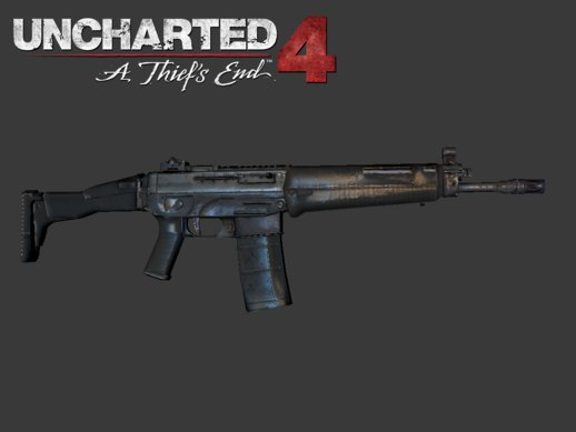Assault Rifle Uncharted 4