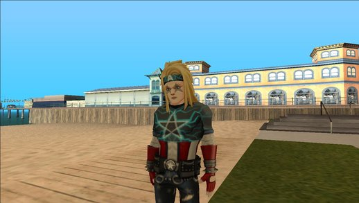Captain America Heavy Metal From Marvel Avengers Academy