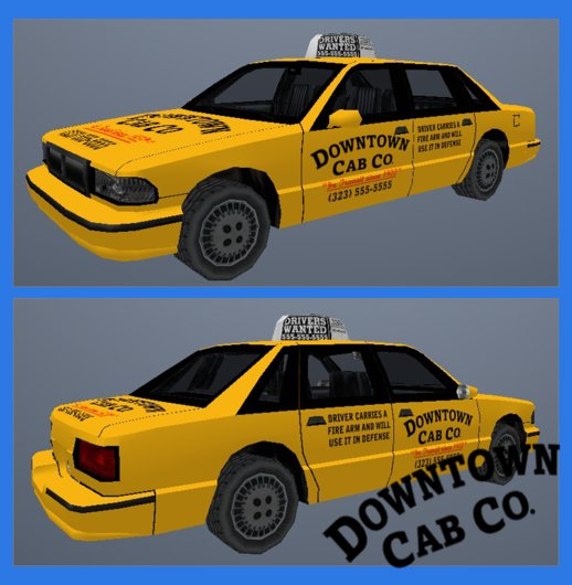 Downtown Cab Co. Taxi