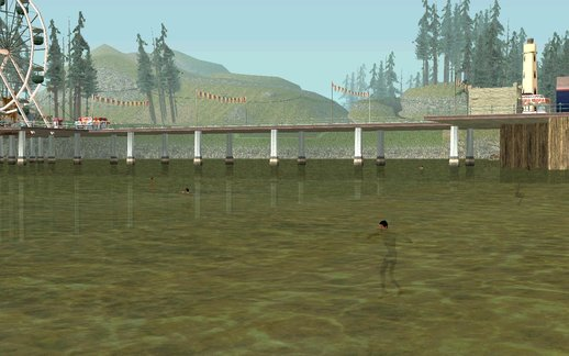 On The Beaches People Swim In The Water (for Android)