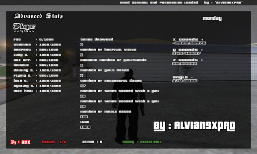 Advanced Statistic Visual v.1 (PC) ( Show All Stat in Game )