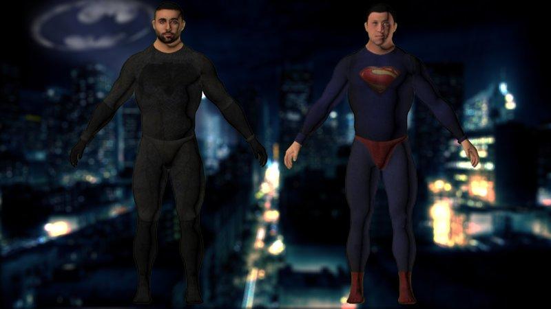 GTA San Andreas Justice League GTA V Peds For GTA SA Mod - GTAinside com