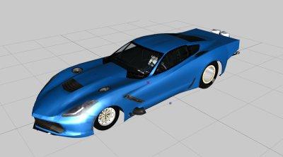 GTA 5 C7 Twin Turbo Promod [FiveM Resorce|Addon ] Mod - GTAinside com