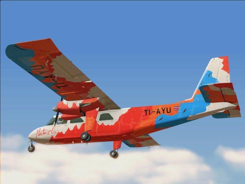 GTA San Andreas Britten-Norman BN-2 Islander Mod - GTAinside com