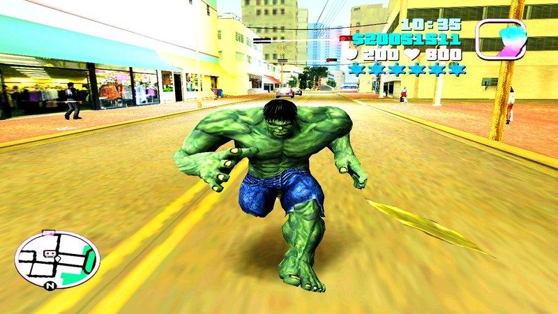 GTA Vice City Hulk Mod - GTAinside com
