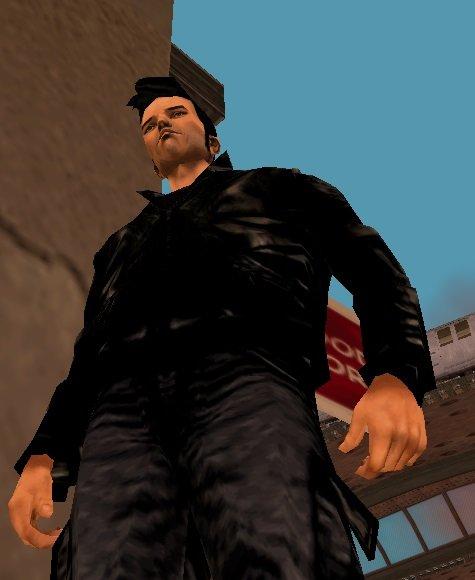 GTA 3 Claude Black Deluxe Clothes Edition Mod