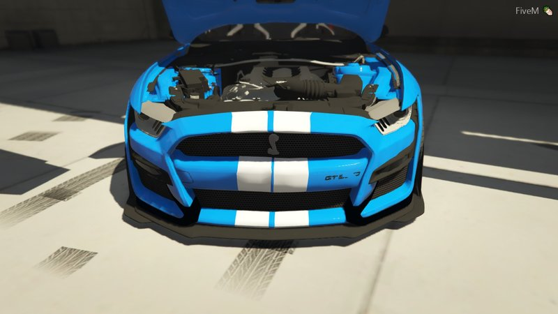 GTA 5 2020 Ford Mustang GT500 FIvem Ready | ADD-ON