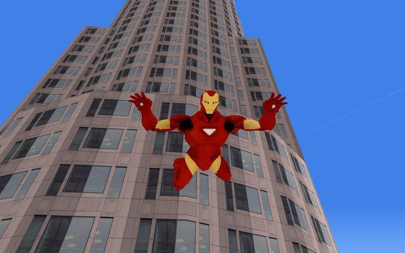 Marvel Ultimate Alliance 2 - Iron Spider v2 for GTA San