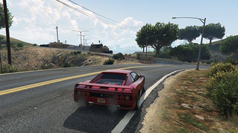 GTA 5 Moses Pass Bridge from LS to Liberty City [Menyoo] Mod