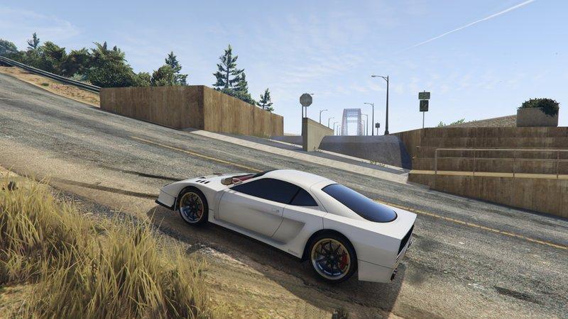 GTA 5 Lassard Bridge from LS to Liberty City [Menyoo] Mod