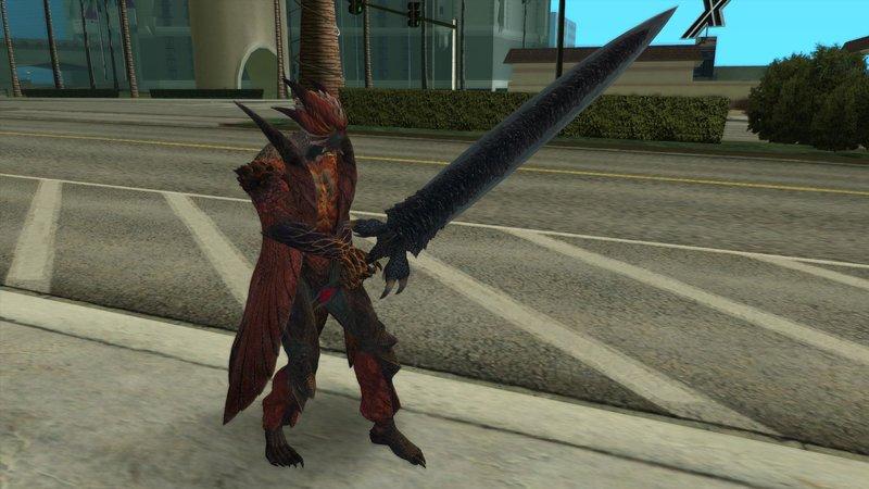 GTA San Andreas Dante Devil Trigger (Devil May Cry 5) Mod