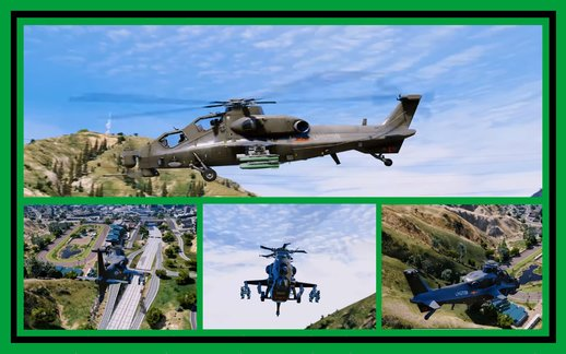 CAIC Z-10 Attack Helicopter [Add-On]