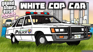 White Cop Cars GTA VC & 100% complete Save file