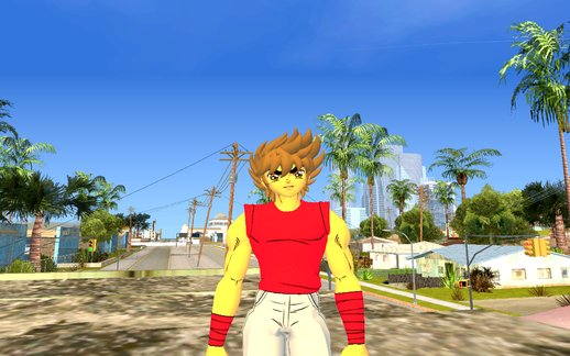 Seiya Casual Clothes - Saint Seiya Soldeir Soul