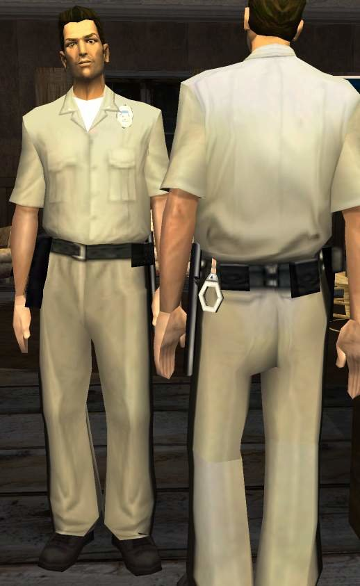 Tommy Vercetti SAPD Officer