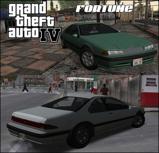 GTA IV Vapid Fortune