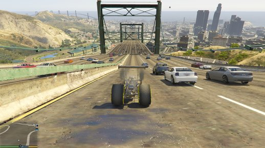 GTA 5 Hiper Highway With Traffic Paths V6.1