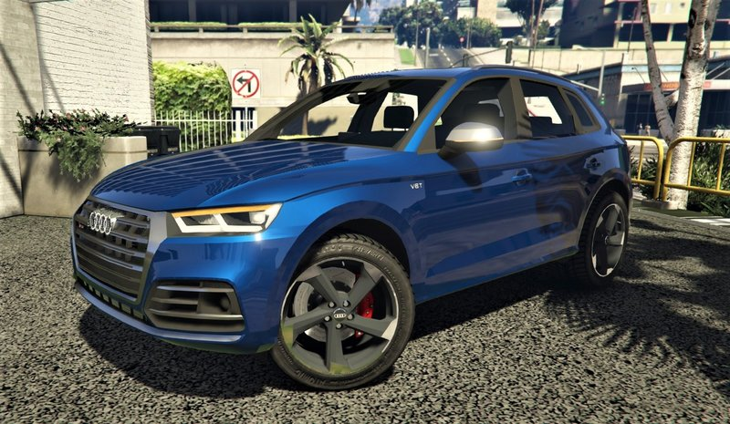 GTA 5 Audi SQ5 2017 [Addon | FiveM] Mod - GTAinside com