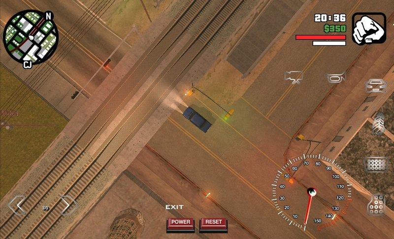 GTA San Andreas GTA 1 Top Down Camera View 2D For GTA SA