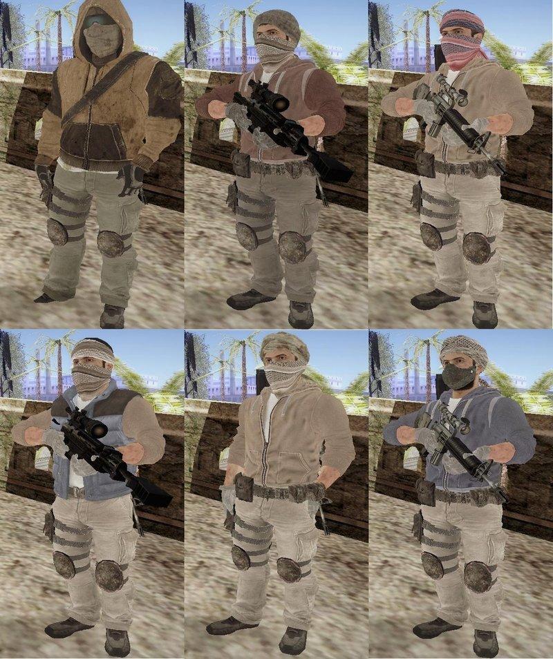 GTA San Andreas Yemeni Militia from Call of Duty: Black Ops