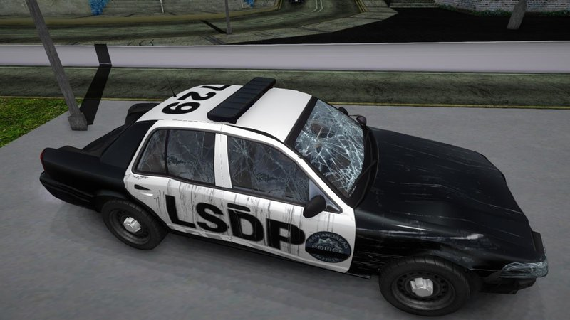 GTA San Andreas Ford Crown Victoria Police Mod - GTAinside com