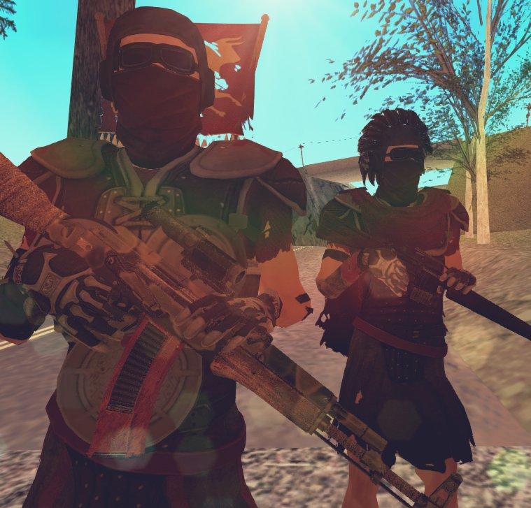 GTA San Andreas Caesar's Legion from Fallout: New Vegas Mod