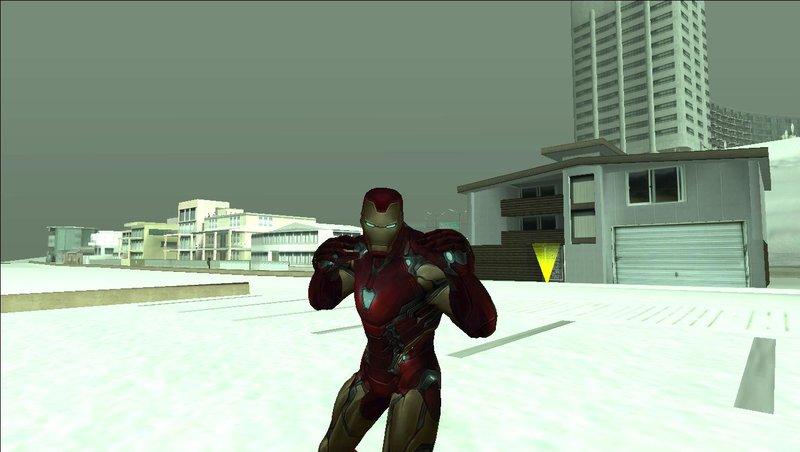 GTA San Andreas Avengers: Endgame Skinpack Mod - GTAinside com