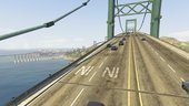 GTA 5 Bridges with traffic paths for Liberty city rewind mod UPDATE 2019