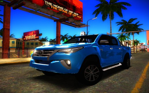 Toyota Hilux 2018 Front Fortuner 2018