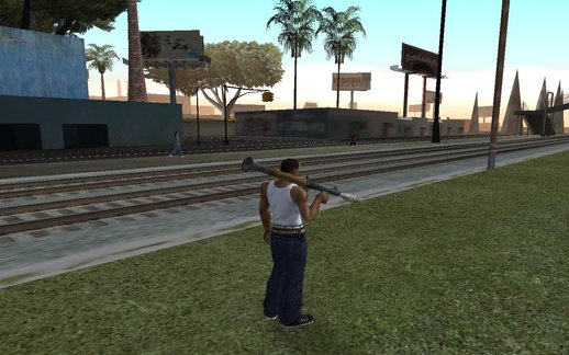 Accurate Aim Of Rocket Launcher For GTA V HUD