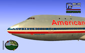 Boeing 747-123 American Airlines