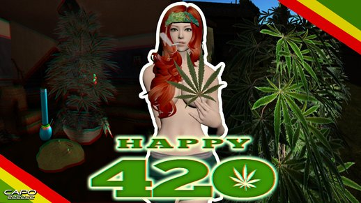 420 WEED MOD for DYOM