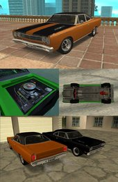 69 Playmouth Roadrunner for mobile (dff+txd)