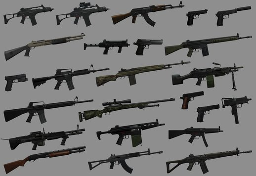Firearms Source Weapons Pack