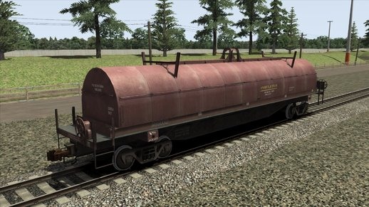 Wagon Steel Coil Brown