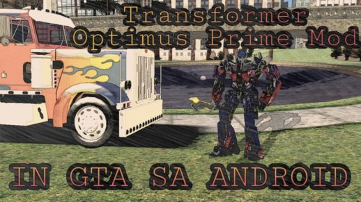Transfomers Optimus Prime Mod V1 for Android