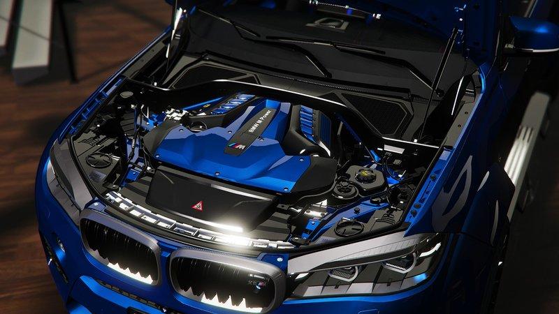 GTA 5 BMW X6M F16 Breitbau [Add-On   Tuning] [OIV] Mod