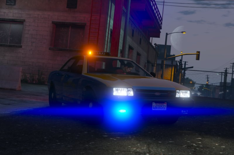 GTA 5 [NON ELS] Unmarked Taxi [Lore-Friendly] [FiveM Ready] [Add-On