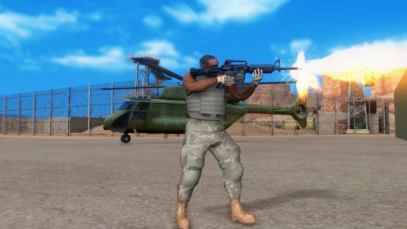 GTA San Andreas D4F Military Gears Mod - GTAinside com