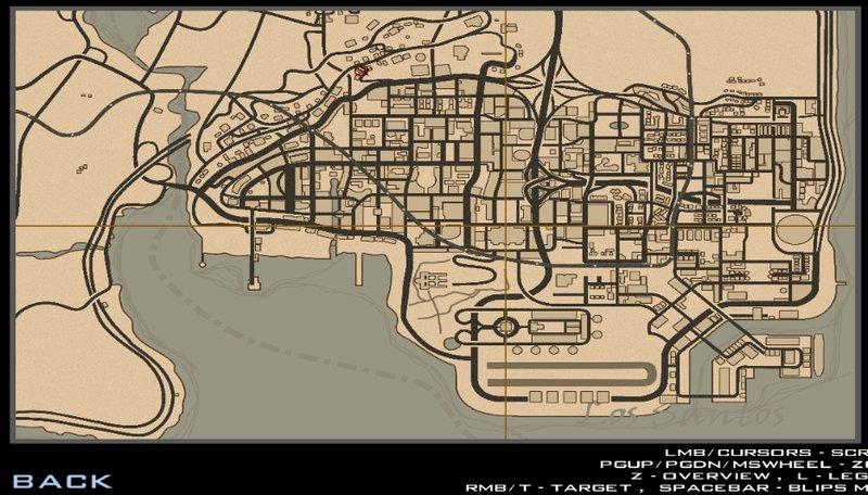 GTA San Andreas RDR2 Map Styled -reupload- Mod - GTAinside com
