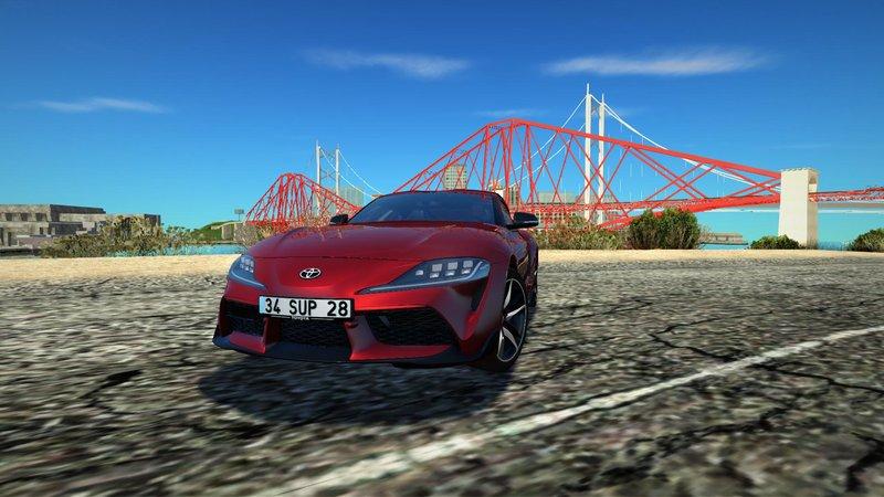GTA San Andreas 2020 Toyota Supra A90 Mod - GTAinside com
