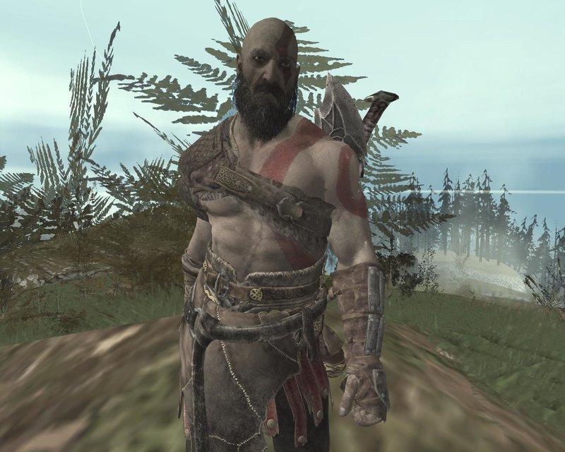Gta San Andreas Kratos God Of War 2018 Mod Gtainside Com