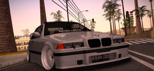 1999 BMW E36 M3 - Stance by Wippy's Garage