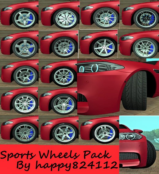 Sports Wheels Pack