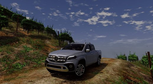 Mercedes-Benz X-Class 2018 [Add-On / Replace]