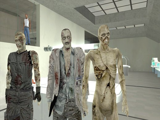 Zombies From Resident Evil Zero