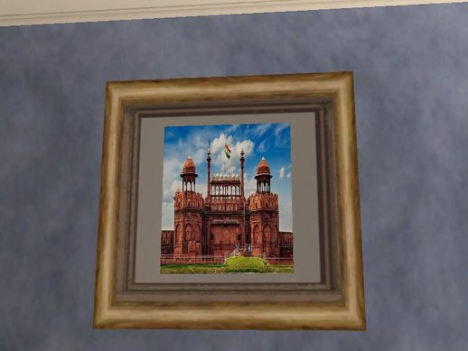 Indian Landmark Photos In Cj House