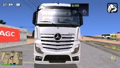 MB Actros Truck For Mobile (dff+txd)